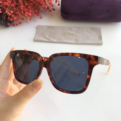 Wholesale Replica 2020 Spring New Arrivals for GUCCI Sunglasses GG0599SA Online SG612