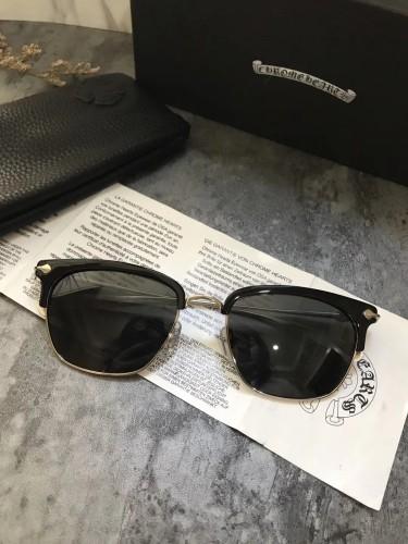 Quality cheap Replica Chorme-Hearts Sunglasses Online SCE107