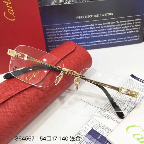 Cartier eyeglasses 3645671 optical frames FCA245