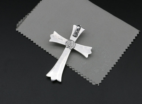 Chrome Hearts Pendant CH CROSS CHP142 Solid 925 Sterling Silver