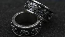 Chrome Hearts Pentagon CH cross plus Ring CHR031