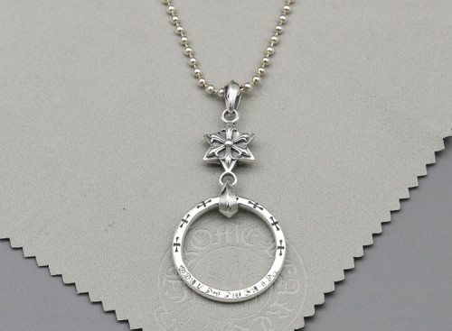 Chrome Hearts Pendant Ring SAF  CHP080 Solid 925 Sterling Silver