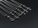 Chrome Hearts Pendant CH CROSS / ARMY FLEUR CHP145 Solid 925 Sterling Silver