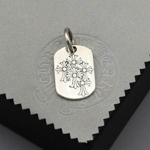 Chrome Hearts Pendant 5 CH CROSS CHP144 Solid 925 Sterling Silver