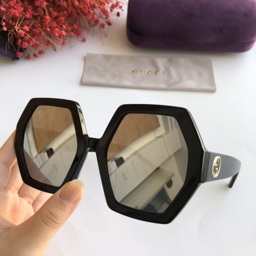 Wholesale Copy 2020 Spring New Arrivals for GUCCI Sunglasses GG0708 Online SG615