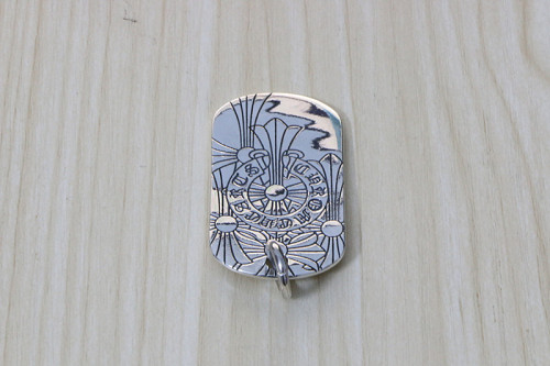 Chrome Hearts Pendant TAG CHP097 Solid 925 Sterling Silver