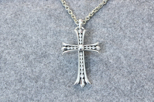 Chrome Hearts Pendant CH CROSS CHP138 Solid 925 Sterling Silver