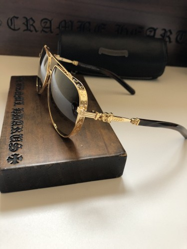 Wholesale Replica Chrome Hearts Sunglasses ARMADILDOE Online SCE163