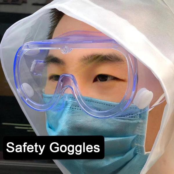 Medical goggles free shipping Safety Goggles Glasses EyeWear Enclosed Antifog Protective Medical Lab Eye Protection Anti-Dust Wind Proof Virus for Shortsightedness
