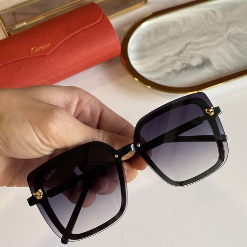 Cartier 13079120 Sunglasses 5896 For Women CR9149