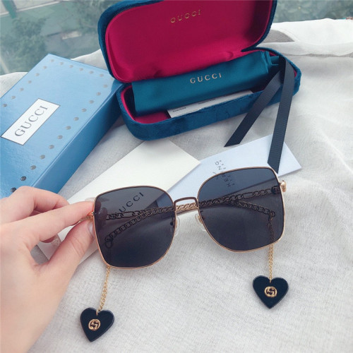 Replica GUCCI GG071S Sunglasses Chain Heart Pendant SG674