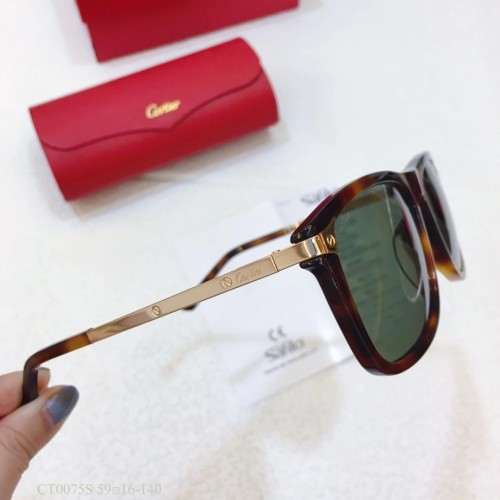 Replica Cartier Sunglasses CT0075S CR167