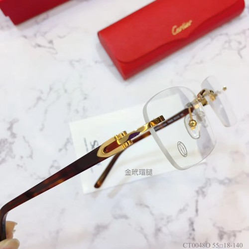 Replica Cartier Eyeglass Optical Frames CT00480 FCA315
