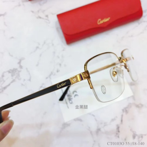 Replica Cartier Eyeglass Optical Frames CT01030 FCA319