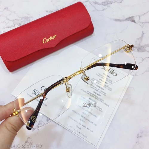Replica Cartier Eyeglass Optical Frames CT01410 FCA322