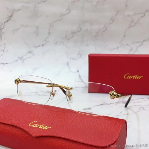 Cartier Metal CT0148O Eyeglass Optical Frames FCA323