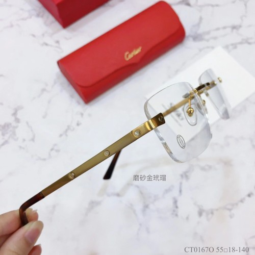Cartier Eyeware CT0216O Eyeglass Optical Frames FCA327