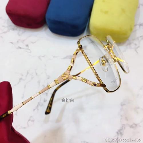 GUCCI Eyeglass Optical Frame GG0593O Eyeware FG1300