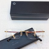MONT BLANC Eyeglass Wooden Leg MB390 Wood Optical Frames FM365