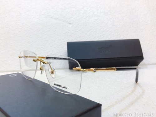 MONT BLANC Glass MB0071O Eyeware Optical Frames FM369