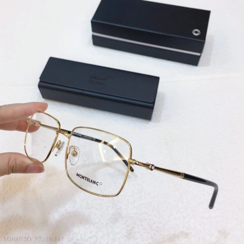 MONT BLANC Glass MB0072O Eyeware Optical Frames FM370