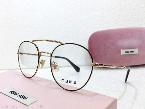 MIU MIU Glasses For Women VMU51 Eyeware Optical Frame FMI165