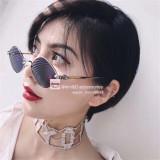 Replica Chrome Hearts Eyeglass Frame DIAMOND DOG FCE225