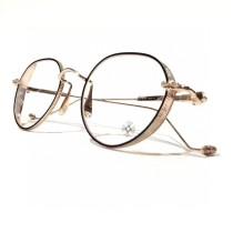 Chrome Hearts eyeglass optical frame Titanium Metal VAGASOREASS FCE250
