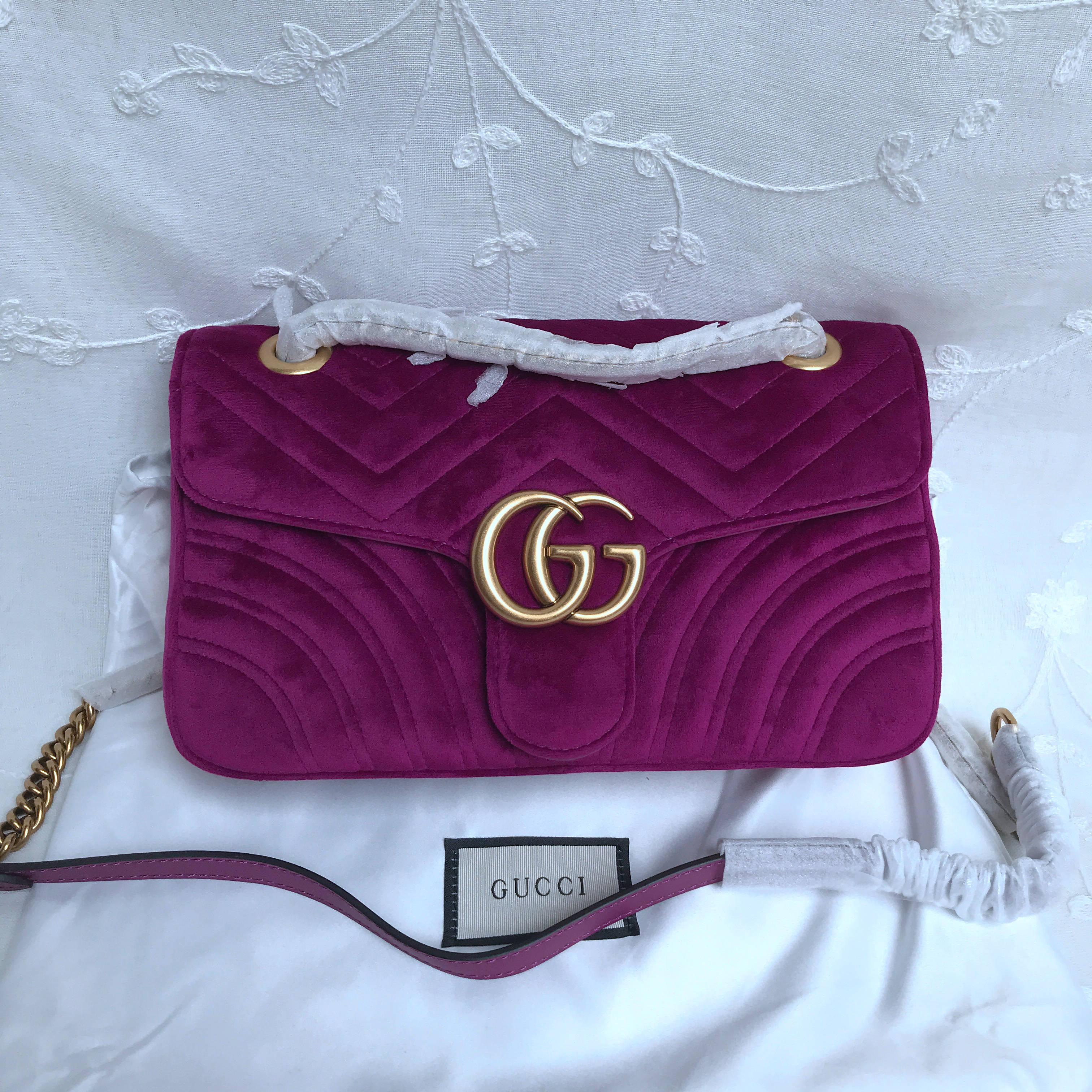 Gucci Marmont samll matelasse shoulder bag 443497