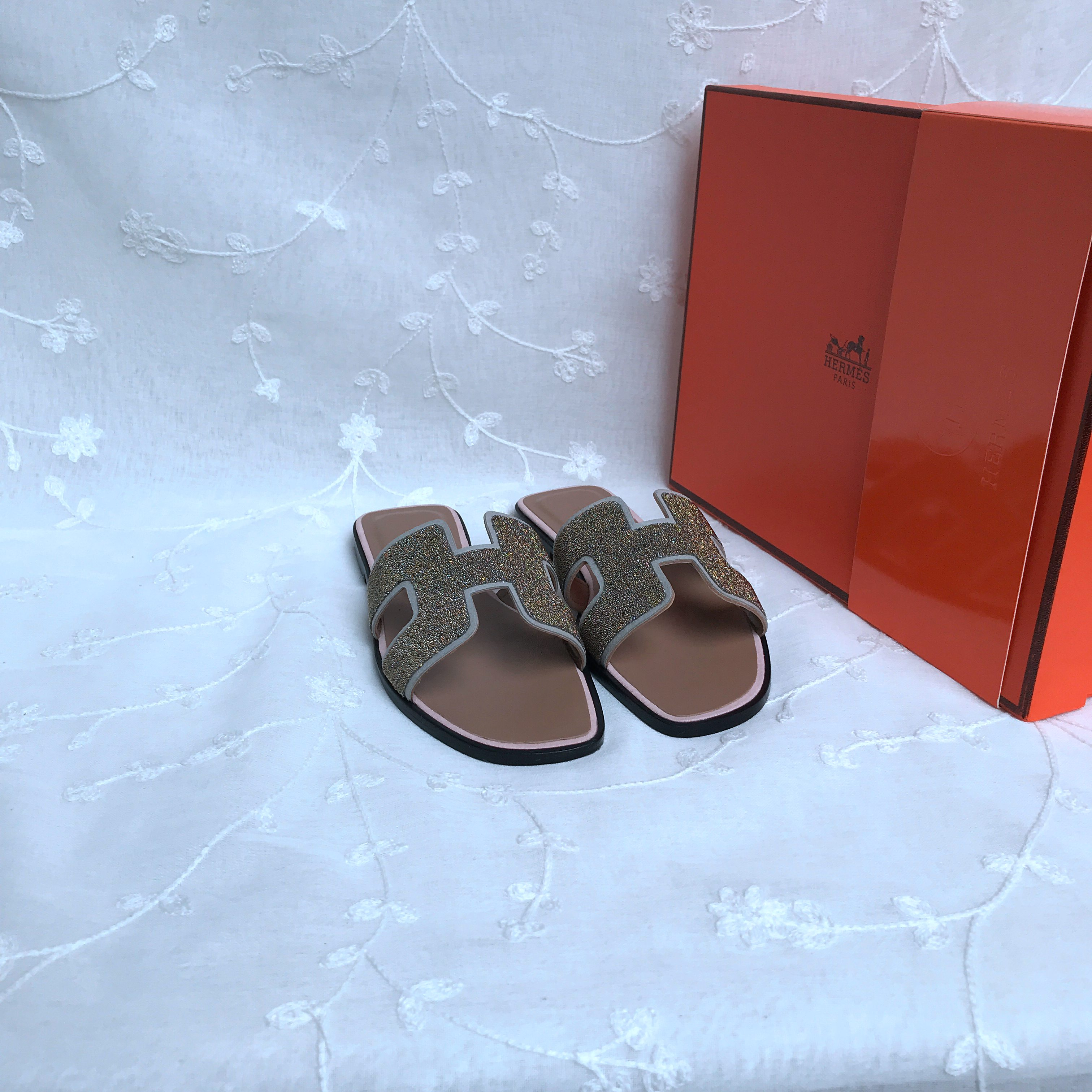 Hermes Slippers Shoes  429696