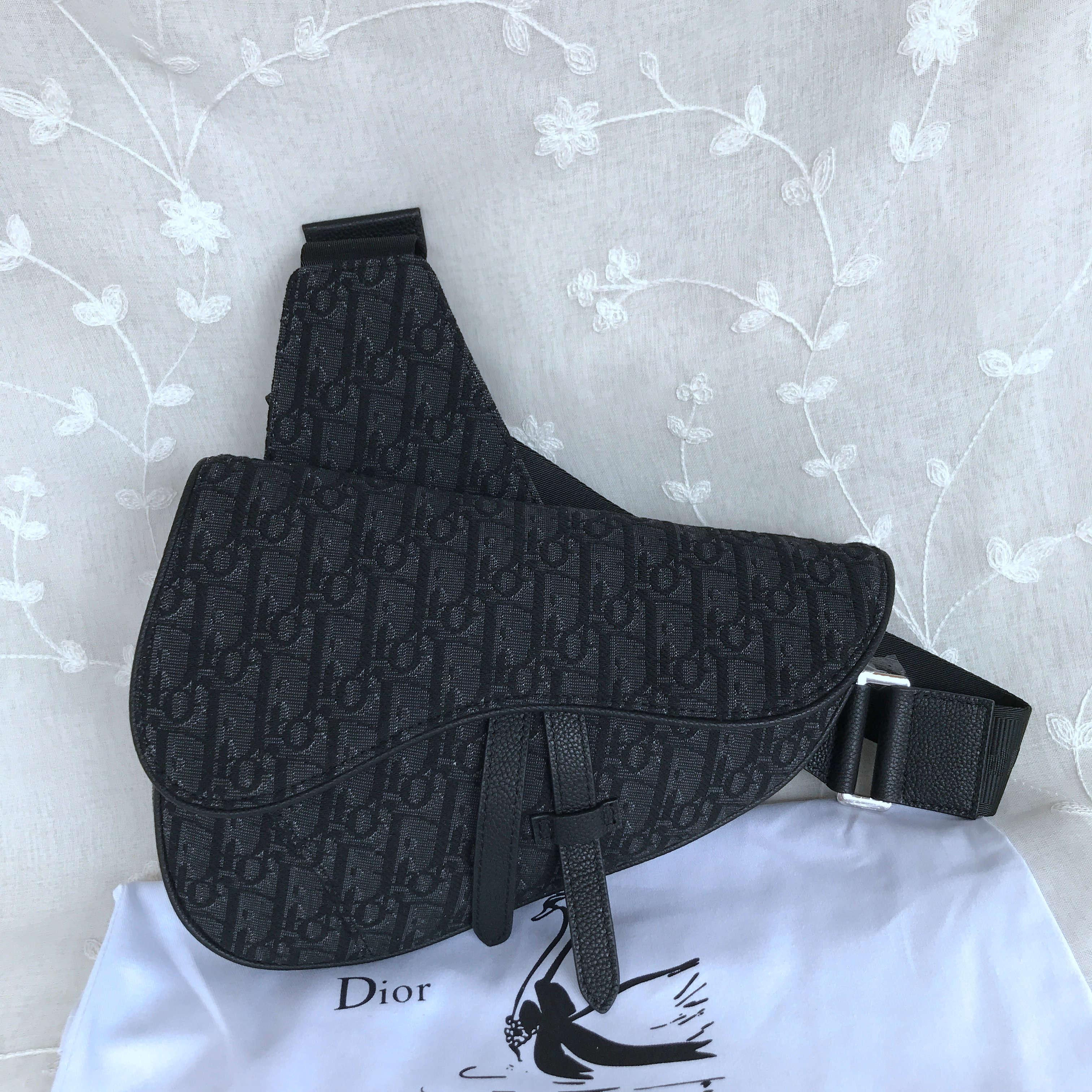 Dior Homme Saddle Bag