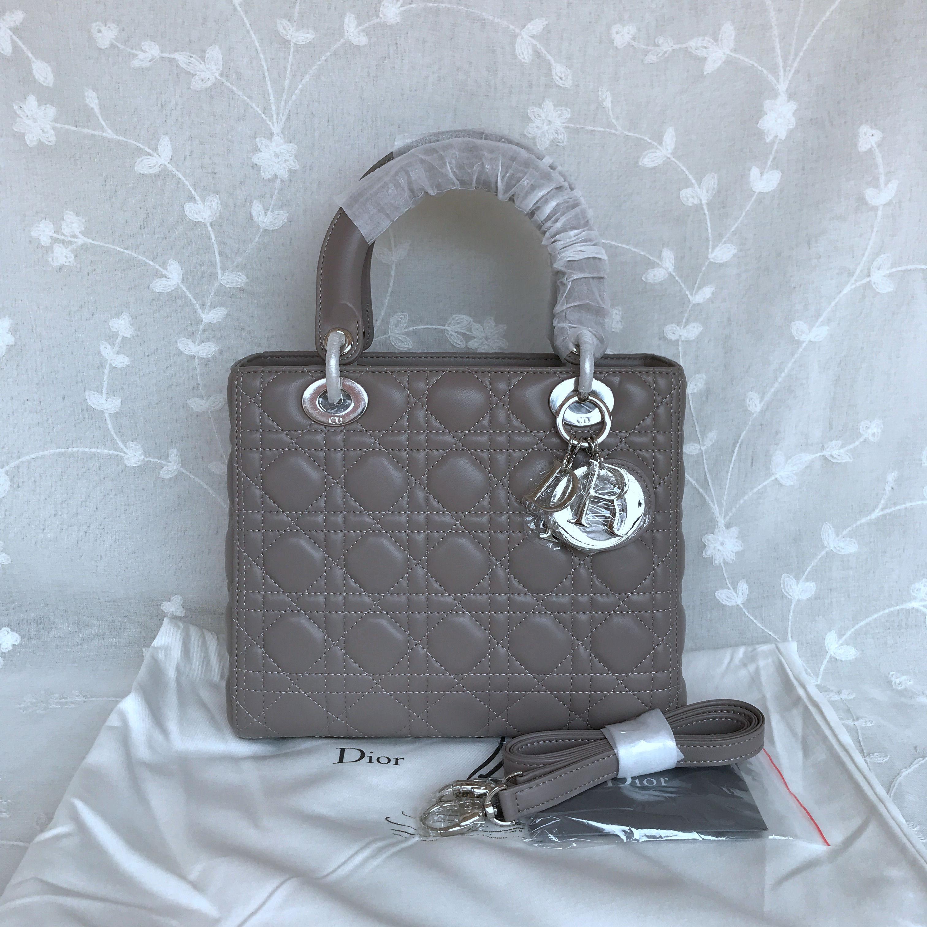 LADY DIOR ULTRA-MATTE BAG 24cm 44550