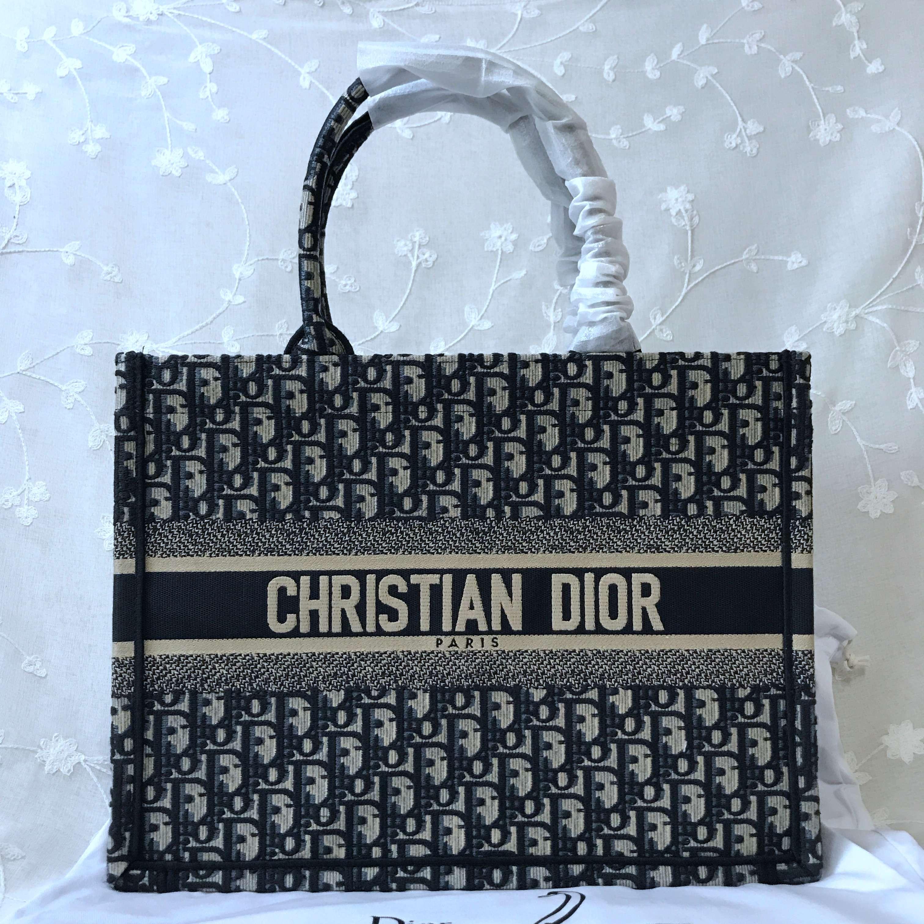 Small Dior Book Tote