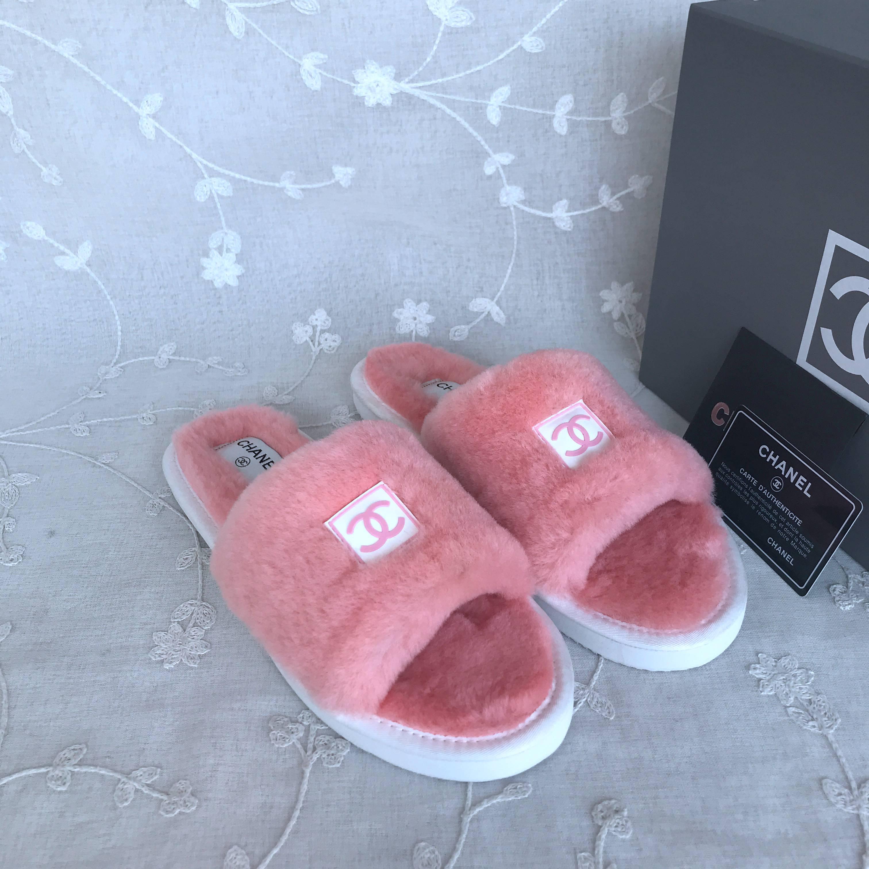 CC Wool slippers
