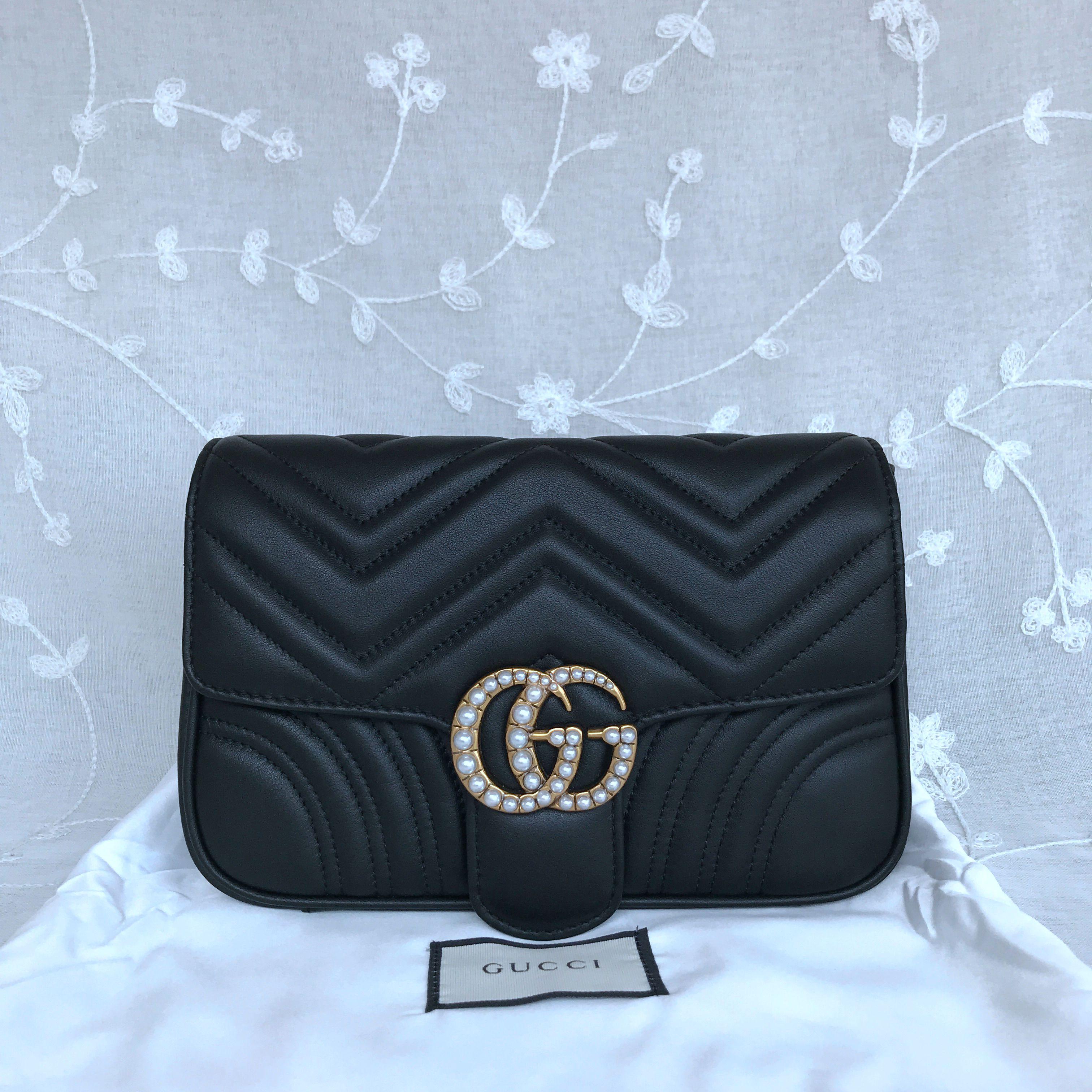 Gucci Marmont Matelasse Shoulder bag 476809