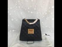Gucci Black Packback 498194