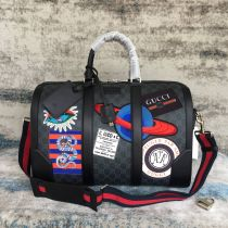 Gucci black carry-on duffle 474131