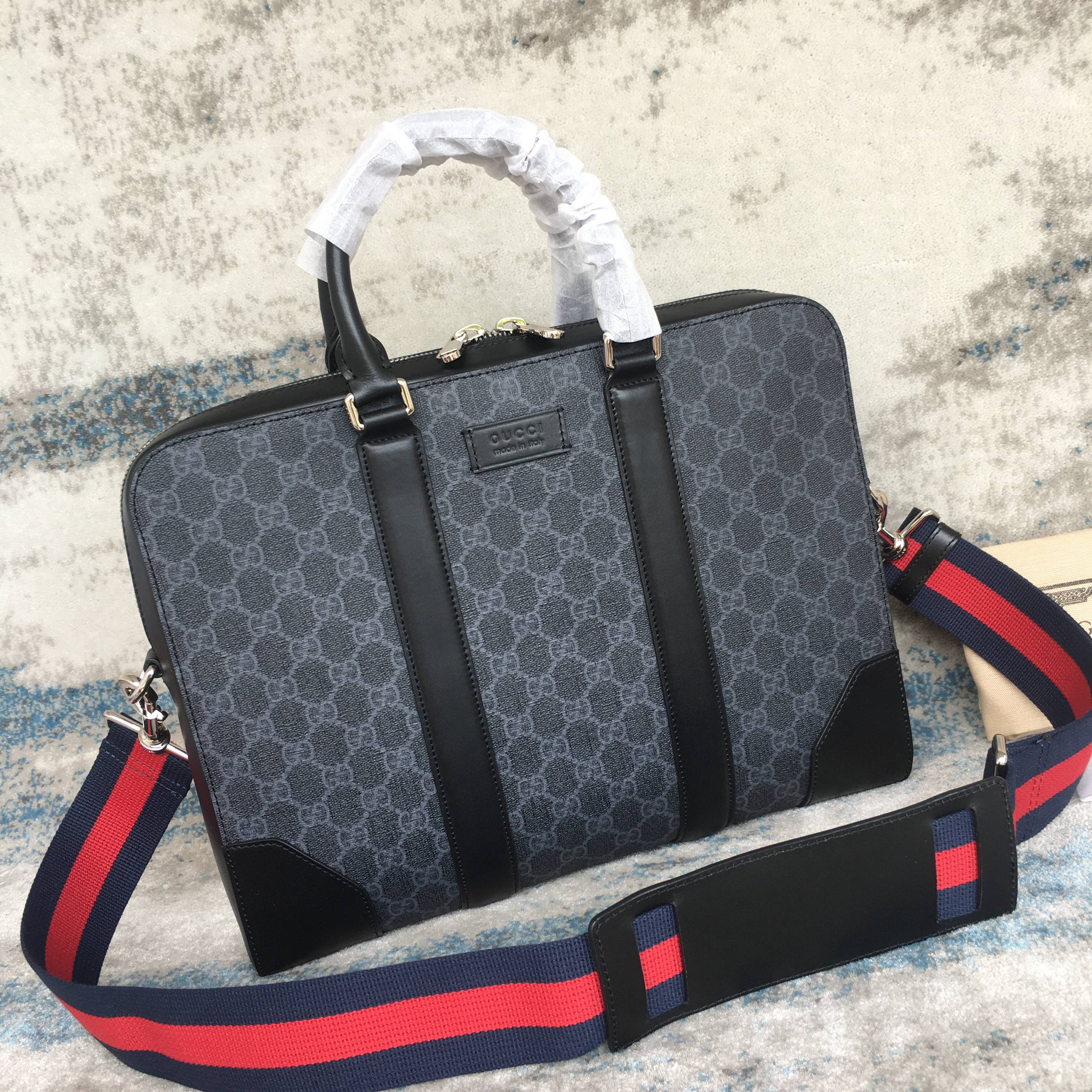 GUCCI Black briefcase  474135