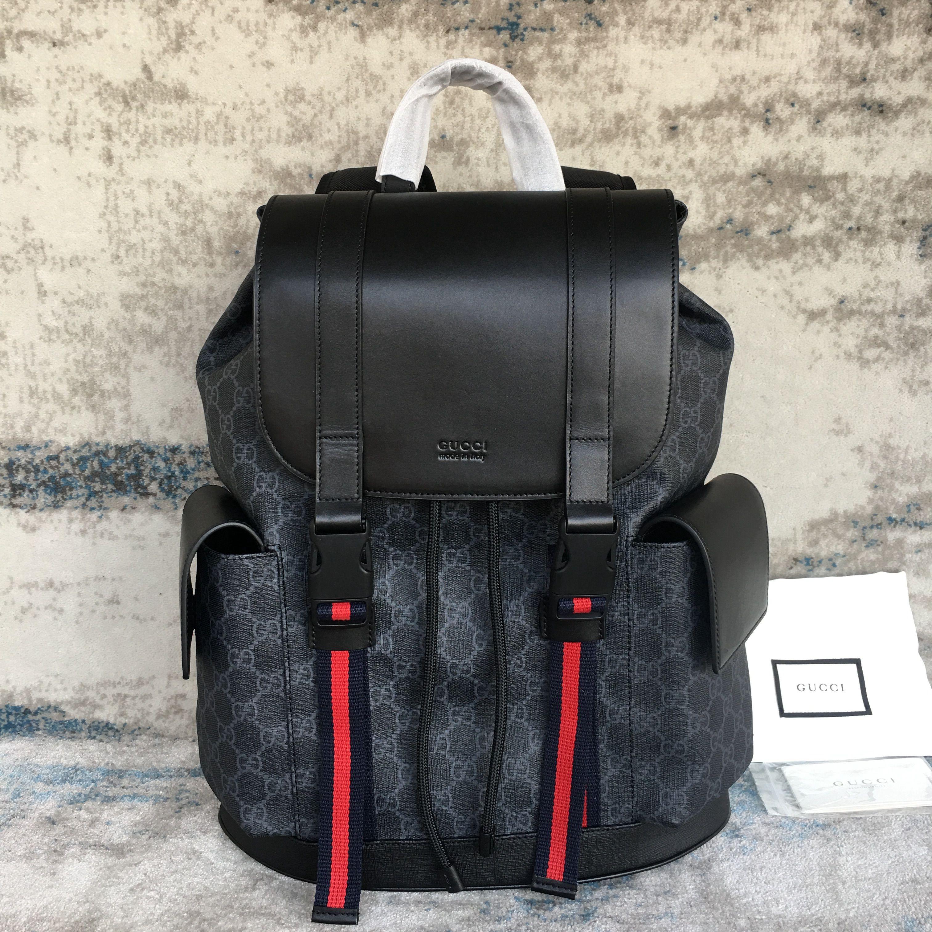 GUCCI Black Backpack 495563