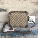 Gucci Shoulder Bag with leather details 626363