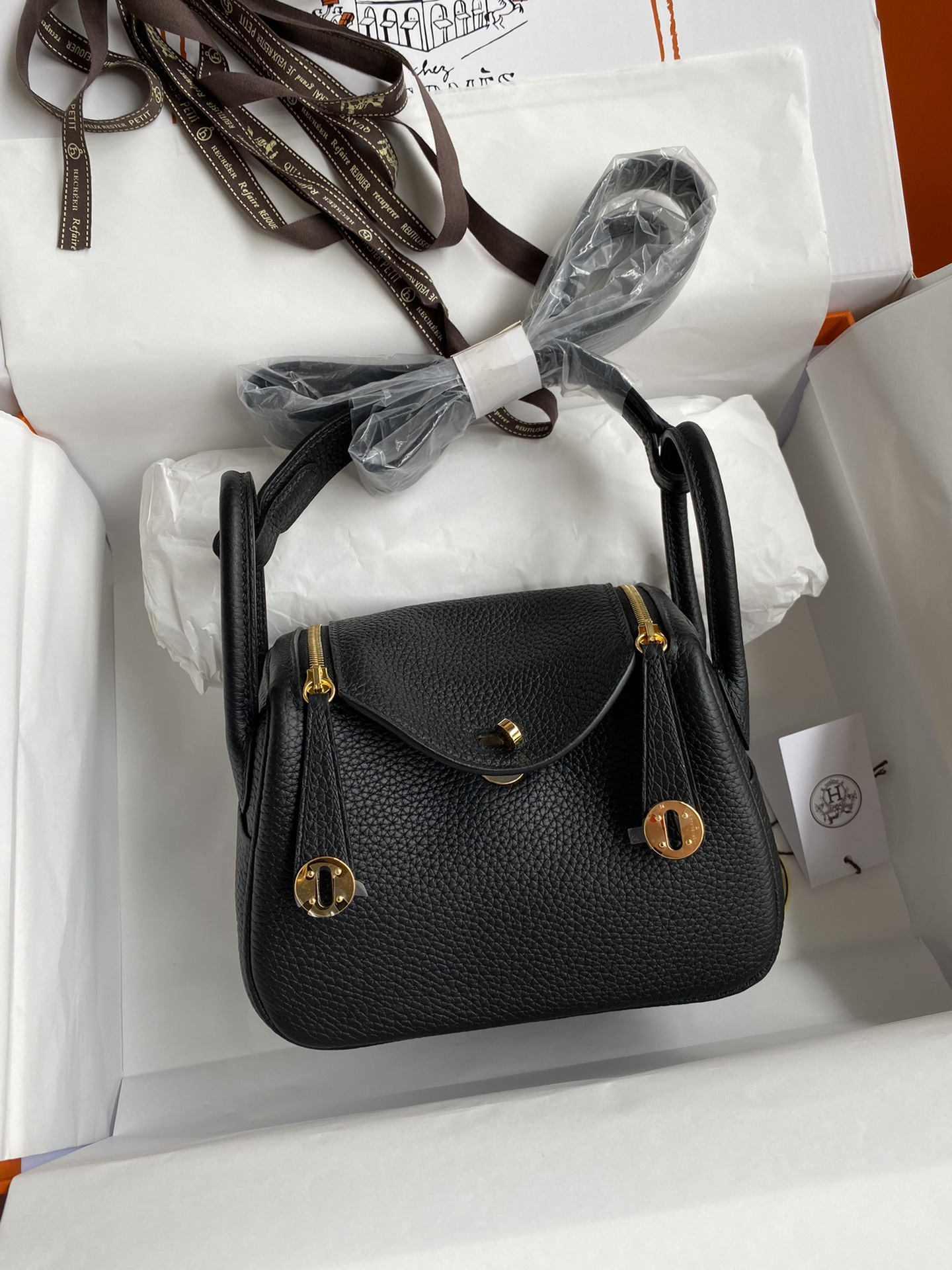 Hermes Lindy Shoulder Bag