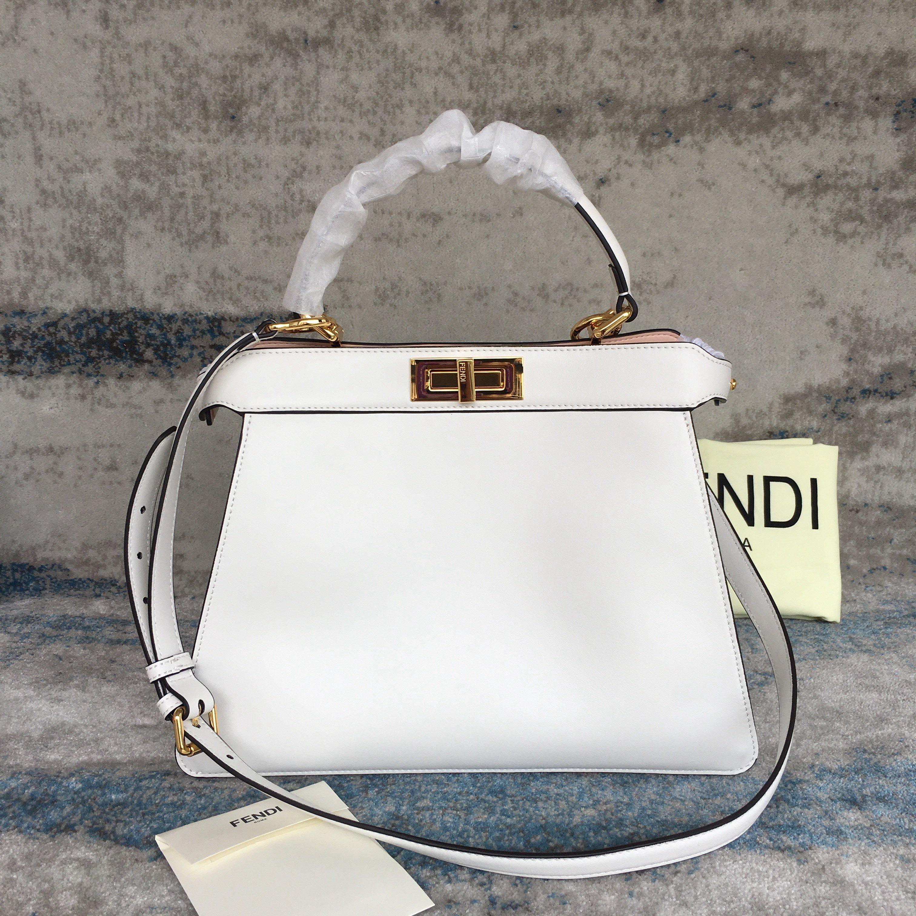 Fendi PEEKABOO ESSENTIALLY Handbag