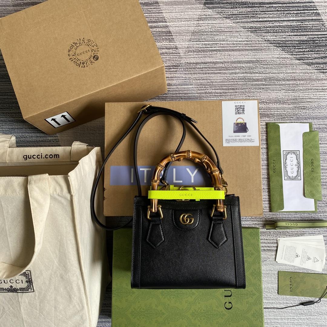 GUCCI Diana mini tote bag 655661