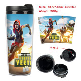 FORTNITE Creative Cup Double-deck Insulated Plastic Cup 400ml
