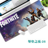 FORTNITE Computer Table Mat Large-size Mousepad Thickened Size 90*40cm (35*15.7inch)