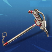 FORTNITE Hoe Pickaxe Alloying Weapon Key Chain