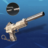 FORTNITE Revolver Pistol Alloying Weapon Key Chain