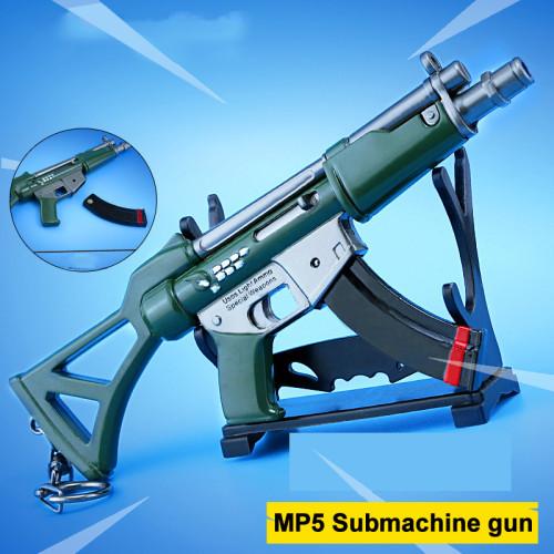 FORTNITE MP5 Submachine Gun Assault Rifle Alloying Weapon Key Chain