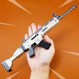 FORTNITE Scar Assault Rifle Kirsite Alloying Weapon Toy Scale Model