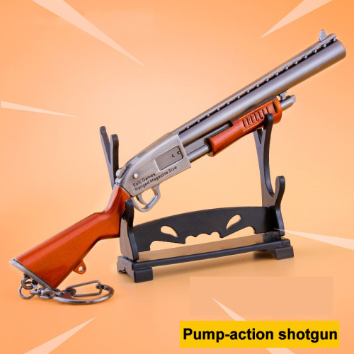 FORTNITE Pump Shotgun Kirsite Alloying Weapon Key Chain